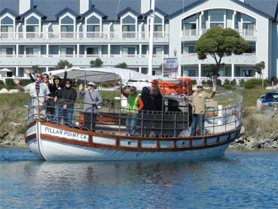 Pillar point rv park harbor tours the irene for Half moon bay pier fishing
