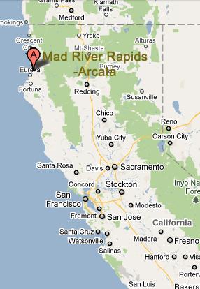 Hello Northern California Mad River Rapids Rv Park